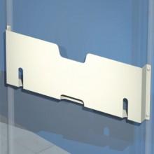 Карман для документации, металлический, для дверей шириной 500 мм