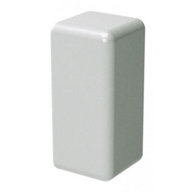 00578R | LM 25x17 Заглушка белая (розница 4 шт в пакете, 20 пакетов в коробке)