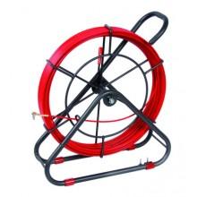 Устройство закладки кабеля на вращ. барабане,стеклопруток д.6мм, длина 80 м