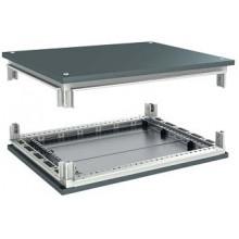 Комплект, крыша и основание, для шкафов CQE, 1000 x 500 мм
