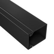 TA-EN 25x30 Короб с плоской основой, цвет чёрный
