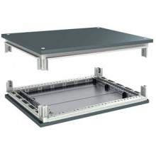 Комплект, крыша и основание, для шкафов CQE, 1200 x 400 мм