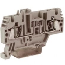 HMFA.2GR, держатель предохранителя, 2,5 кв.мм, серый