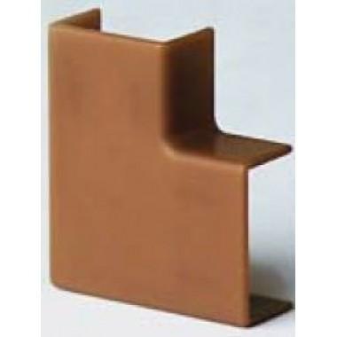 00407RB | APM 22x10 Угол плоский коричневый (розница 4 шт в пакете, 20 пакетов в коробке)