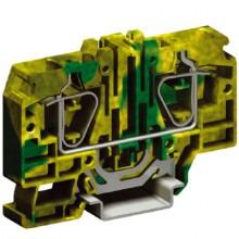 HTE.16, зажим для заземления, 16 кв.мм желто-зеленый