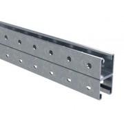 Профиль BPD-41, двойной, С-образный, 41х41, L2000, 2.5мм, нержавеющее