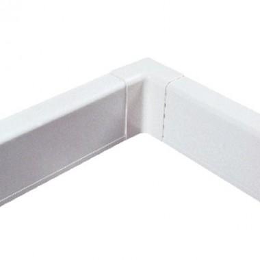 AIR10042 | Внутренний угол для плинтусного короба 100х40 мм белый