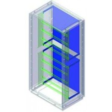Комплект для крепления монтажной платы к монтажной раме, Сonchiglia, шкаф 1390 х 580 х 330 мм