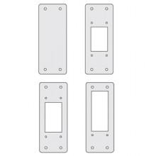 Заглушки для пром. панелей, сплошные, 1 упаковка - 4шт.
