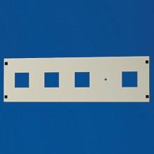 Секционная панель, 4 x 68x68мм + O10мм, В=200мм, Ш=800мм