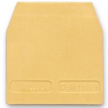 HSCB.4/PTGR, торцевой изолятор для HSCB.4, серый