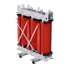 Трансформатор с литой изоляцией 100 кВА 10/0,4 кВ D/Yn11 IP00 виброопоры