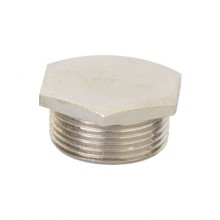 Заглушка M20x1,5, никелированная латунь