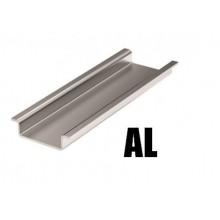 Дин-рейка алюминиевая, с насечкой OMEGA 3, 35х7,5мм.