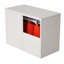 Трансформатор с литой изоляцией 100 кВА 10/0,4 кВ D/Yn11 IP31 виброопоры