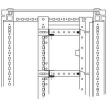 Объединительные панели для секций шкафов DAE/CQE, 600мм, 1 упаковка - 5шт.
