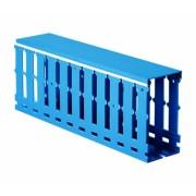 Короб перфорированный, синий RL12 80x100