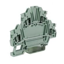 HMD.2/3DC/GR двухуровневый пружиный зажим с диодом