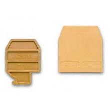 Торцевой изолятор для зажимов типа HCD.1/PT/GR. Серый