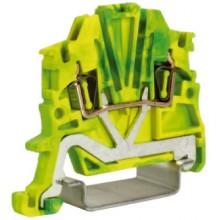 HTE.1, зажим для заземления, 1,5 кв.мм желто-зеленый