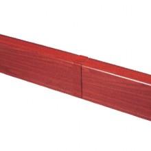 Накладка на стык для плинтусного короба 100х40 мм (ламинированное под дерево)