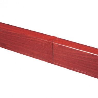 AIR10049B | Накладка на стык для плинтусного короба 100х40 мм (ламинированное под дерево)