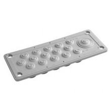 Кабельный ввод, пластик V0 UL94, IP54, +130 - 40, 16 отверстий