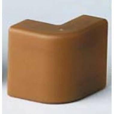 00404RB | AEM 25x17 Угол внешний коричневый (розница 4 шт в пакете, 20 пакетов в коробке)