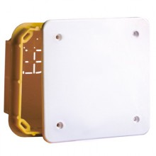 Коробка ответвительная прямоуг. для твердых стен, IP40, 160х130х70мм