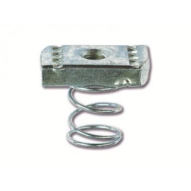 CM151000 | Гайка для подвешивания профиля (с пружиной) М10х40 | ДКС