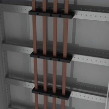 Рейка для шинодержателей, установка по ширине, Ш=400мм, 1 упаковка - 4шт.