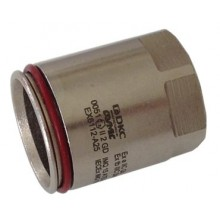 Муфта взрывозащищенная Ex e труба-коробка с внутренней резьбой, DT25мм, M25x1.5, сталь нержавеющая AISI 316L, IP66/67