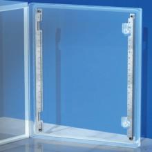 Рейки дверные, вертикальные, для шкафов CE В=500мм, 1 упаковка - 2шт.