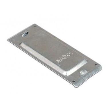 30582HDZL | Пластина защитная основания IP44 осн.100 (мет.), ц-лам. ан.
