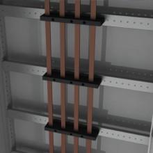 Рейка для шинодержателей, установка по ширине, Ш=1200мм, 1 упаковка - 4шт.