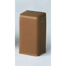 LM 25x17 Заглушка коричневая (розница 4 шт в пакете, 20 пакетов в коробке)