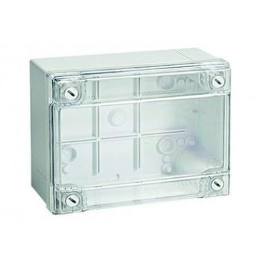 54420I | Коробка ответвит. с гладкими стенками, прозрачная, IP56, 380х300х120мм