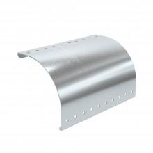 Пластина вывода кабеля для лестничных лотков осн.400мм (с метизами), цинк-ламельное