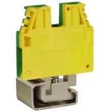 TEC.6/D, зажим для заземления желт.зелен 6 кв.мм