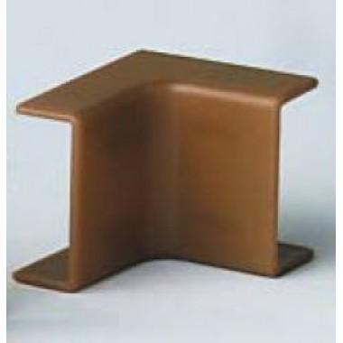 00395RB | AIM 40x17 Угол внутренний коричневый (розница 4 шт в пакете, 10 пакетов в коробке)