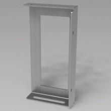 Боковой держатель для секционных монтажных плат, В=400мм, 1 упаковка - 2шт.