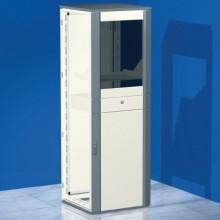 Сборный напольный шкаф CQCE для установки ПК, 2000 x 600 x 800 мм