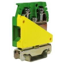 TE.16/O, зажим для заземления желт.зелен 16 кв.мм