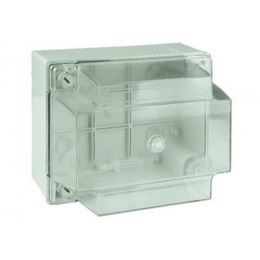 54040 | Коробка ответвит. с гладкими стенками, прозрачная, IP56, 150х110х135мм