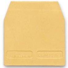 CB10/PT, торцевой изолятор бежевый для СВD.10