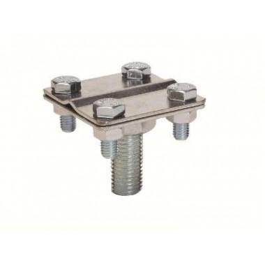 NG6606CC | Соединитель проводника для молниеприемника 16мм, омед