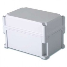 Корпус 600х300х195 IP67 стенки, непрозрачная крышка (выс.крышки 70)