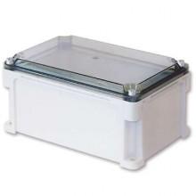 Корпус 400х400х146 IP67 стенки, прозрачная крышка (выс.крышки 21)