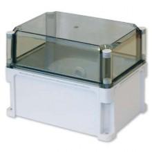 Корпус 300х200х235 IP67 стенки, прозрачная крышка (выс.крышки 110)