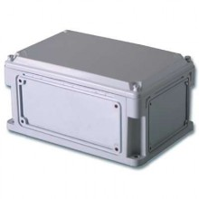 Корпус 300х150х146 IP67 фланцы, непрозрачная крышка (выс.крышки 21)